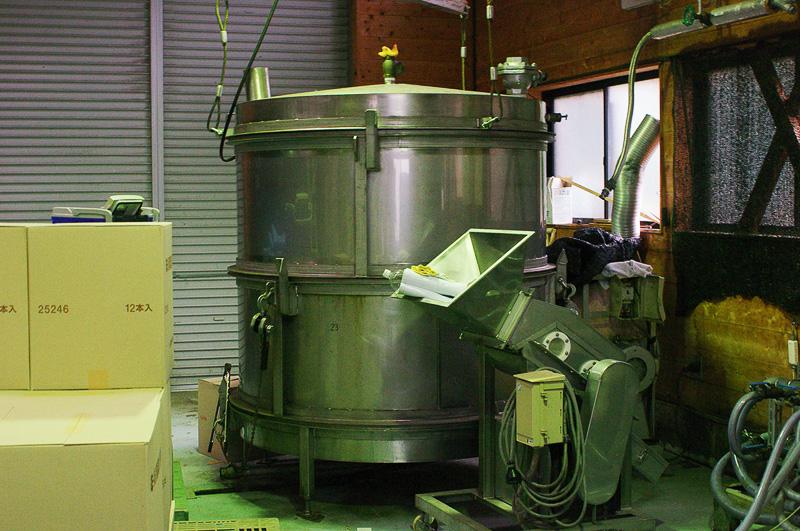 芋を加熱するための芋蒸機