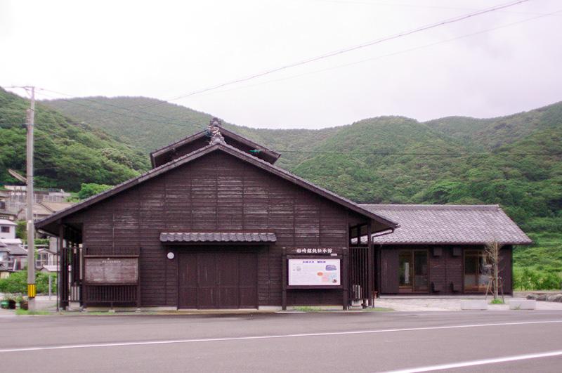 五島うどん作りの体験ができる船崎うどん伝承館