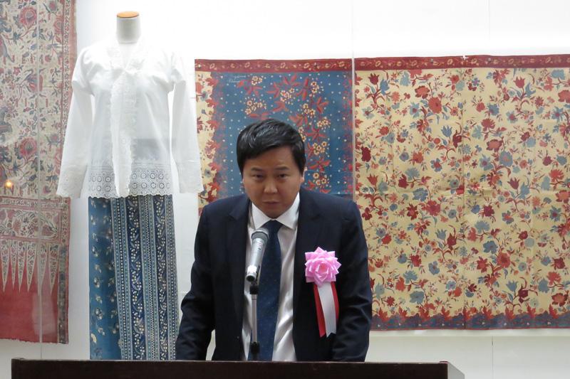 シンガポール大使館臨時代理大使 ウィリアム・タン氏