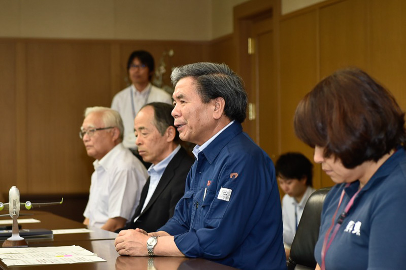 熊本県知事 蒲島郁夫氏