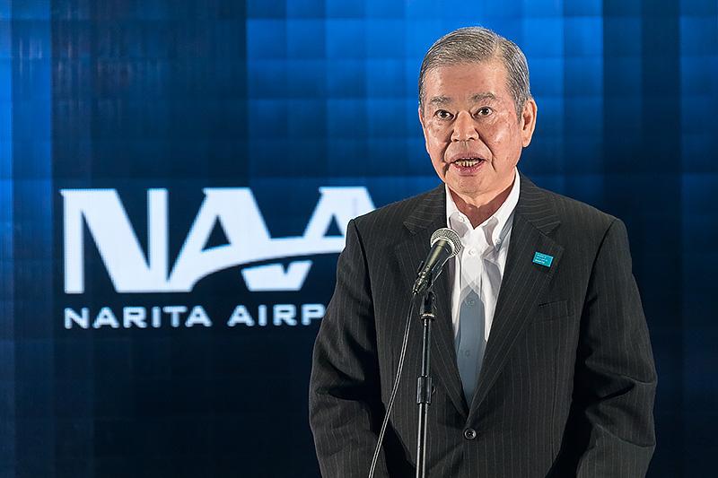 成田国際空港株式会社 代表取締役社長 夏目誠氏