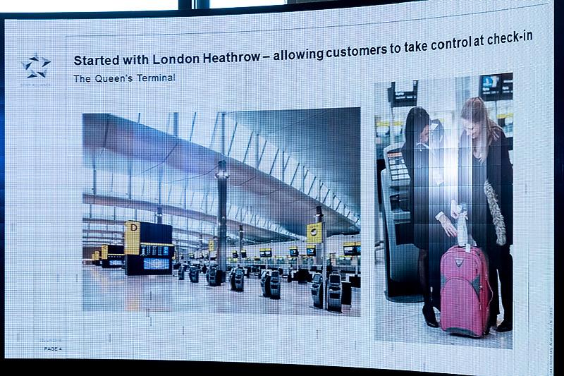 リニューアルはロンドン・ヒースロー空港から始まった