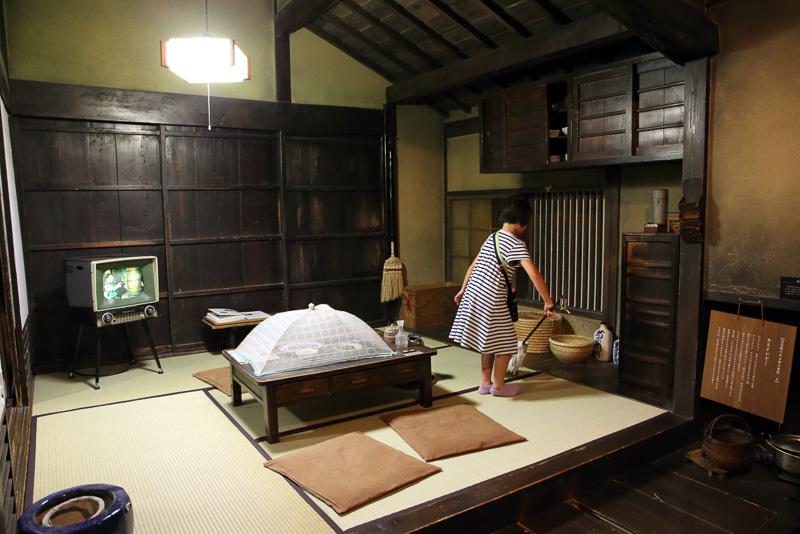 滋賀の昔の暮らしを伝える展示も充実しています