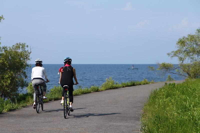 未経験者でもOK! 琵琶湖畔のサイクリングプチ体験