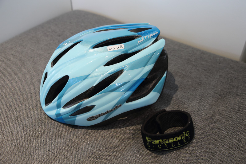 ヘルメット等必要な装備も用意されているから安心です