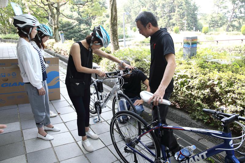 スポーツバイクの選び方から乗り方までかなり丁寧に行ないます