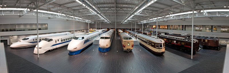 リニア・鉄道館の館内(提供:JR東海)
