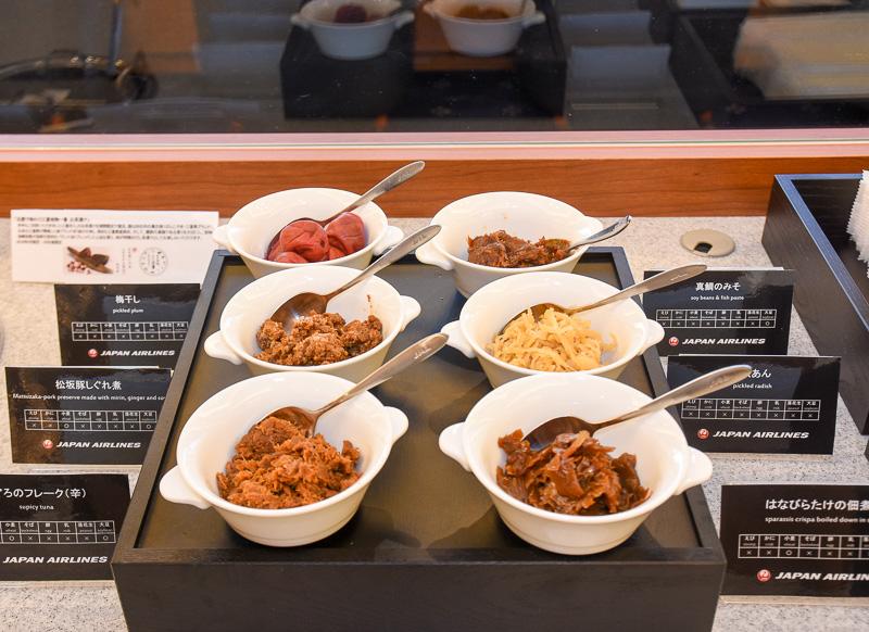 三重県の食材を使った6種類のトッピング