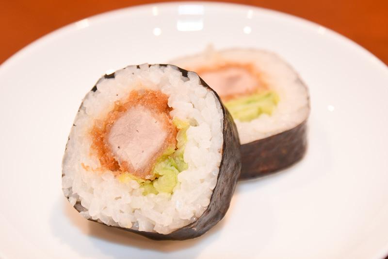 とんかつ巻き寿司