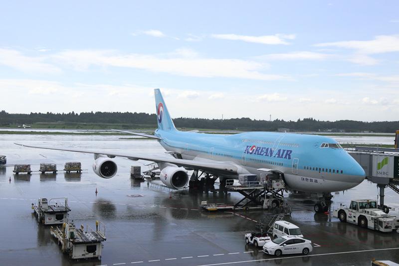 ボーイング 747-8i型機