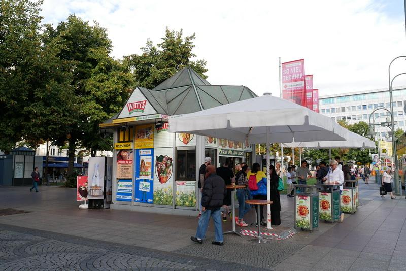 ヴィッテンベルクプラッツ駅そばにある「Witty's」