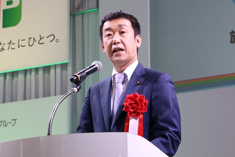 国土交通省 副大臣 田中良生氏