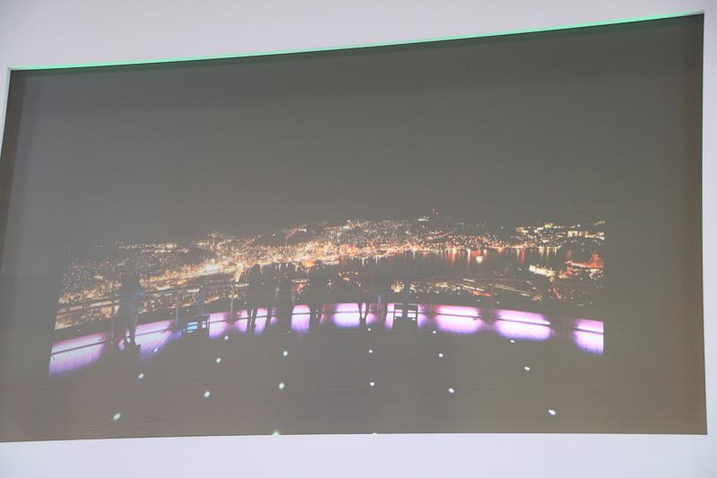 朝長瑞希さんが紹介した長崎の夜景