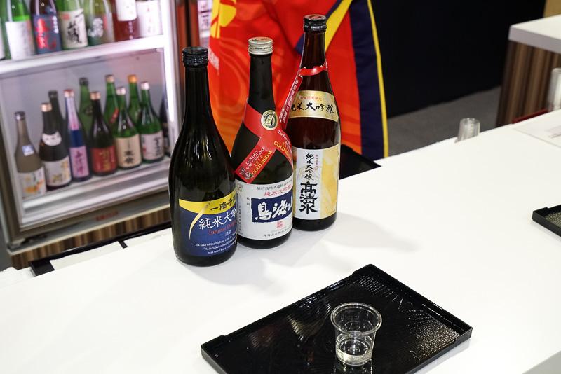 試飲できる日本酒の一例
