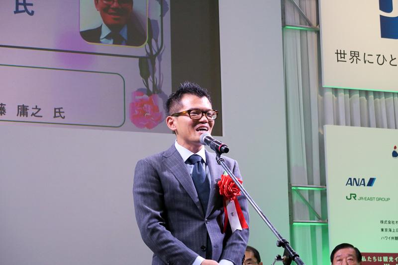 グランプリの清水大徳氏