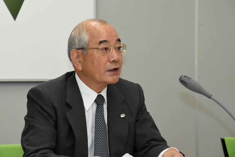 東日本高速道路株式会社 代表取締役社長 廣瀨博氏