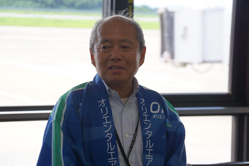 オリエンタルエアブリッジ株式会社 代表取締役社長の小澤美良氏