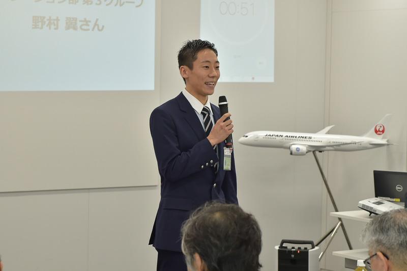 野村翼氏(オペレーション部第3グループ・国内)
