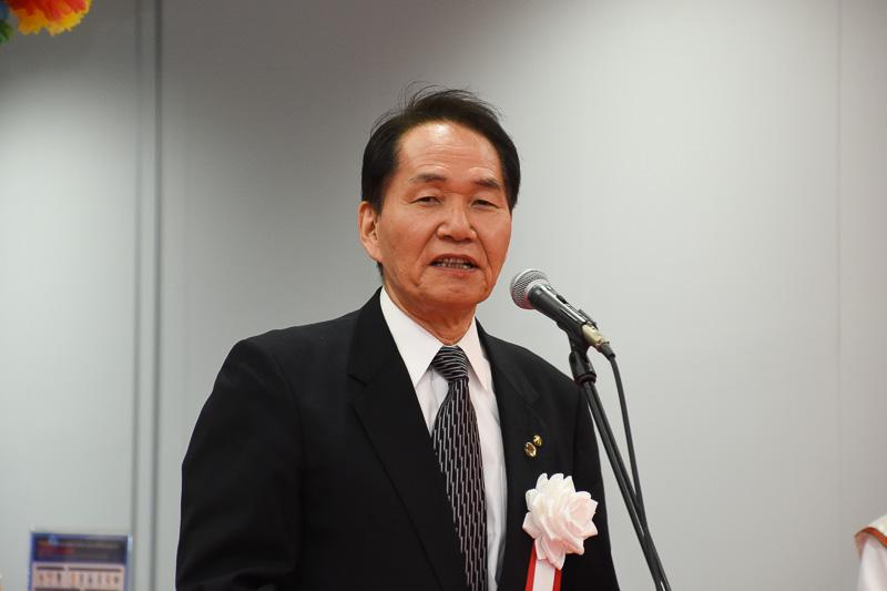 高松空港振興期成会 会長、香川県知事 浜田恵造氏