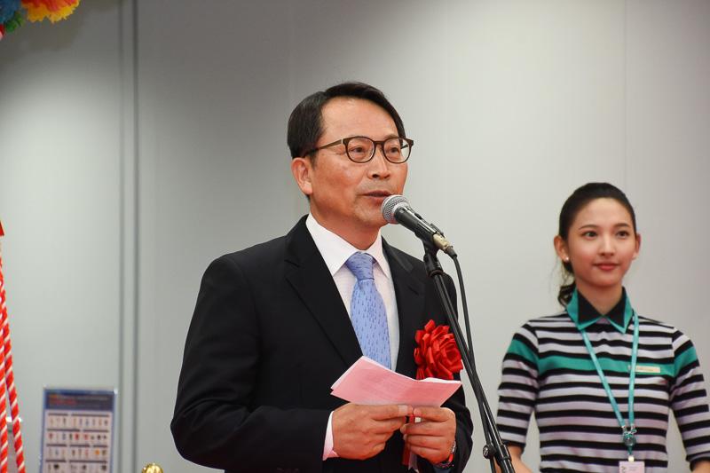駐神戸大韓民国総領事館 総領事 朱哲完(チュ・チョルワン)氏