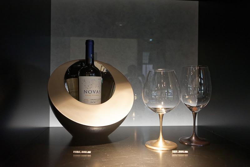 急須や器だけでなく、キセルやワインクーラー、ガラス製品なども作っている