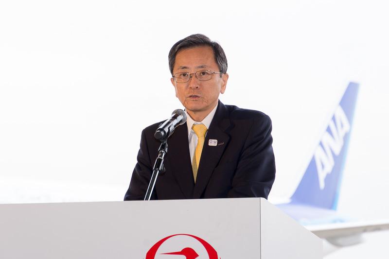 全日本空輸株式会社 代表取締役社長 篠辺修氏