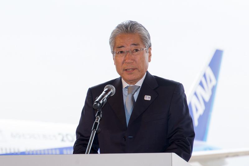 公益財団法人日本オリンピック委員会 会長 竹田恆和氏