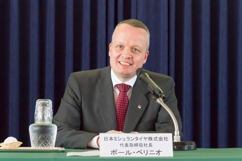 代表取締役社長のポール・ペリニオ氏