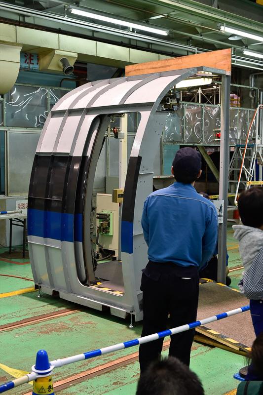 500系側引戸検修訓練装置