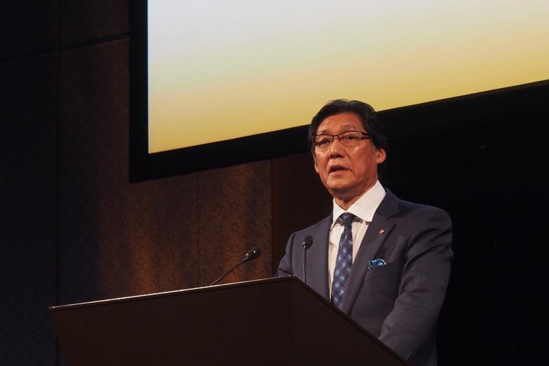 J.フロント リテイリングの代表取締役社長 山本良一氏