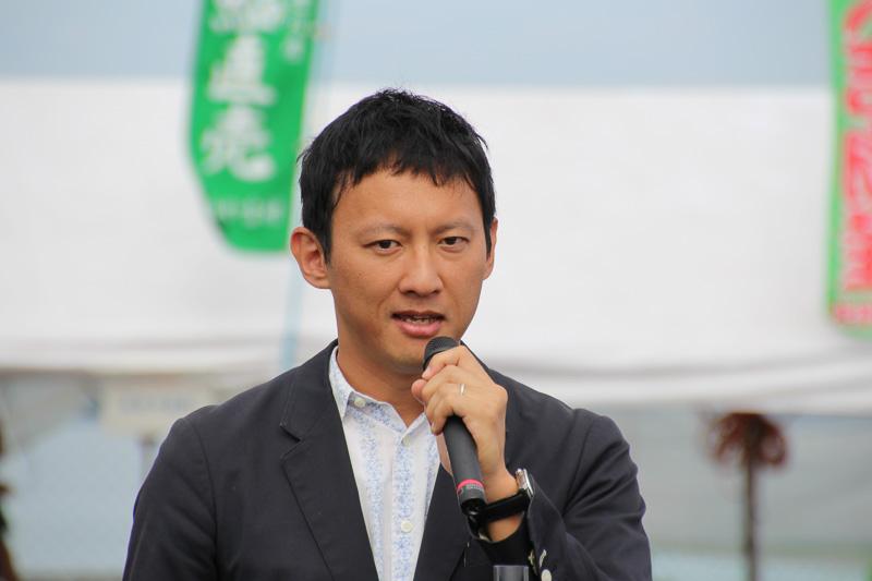 熊本県副知事 小野泰輔氏
