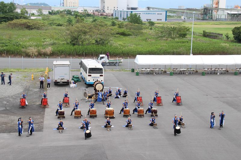 秀岳館高校 雅太鼓部の堂々としたすばらしい演奏