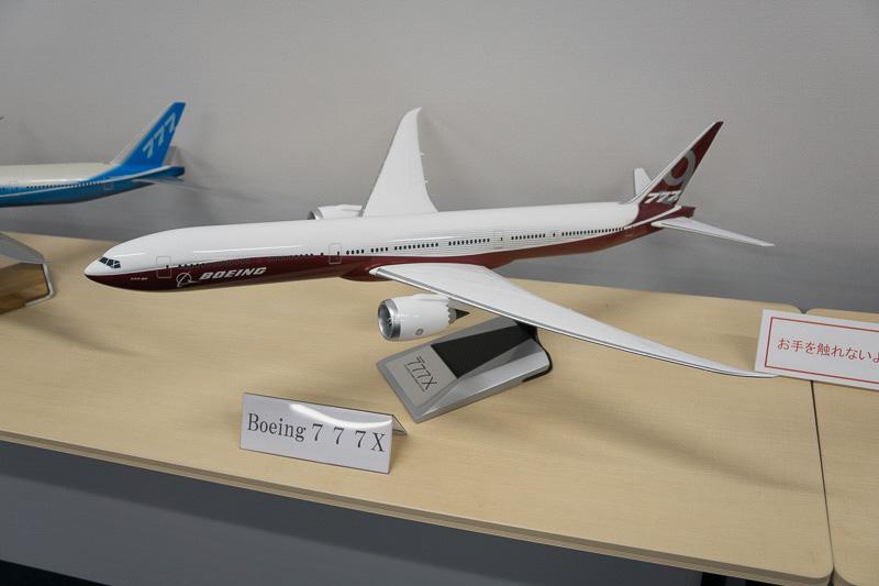 ボーイング 777Xのスケールモデル