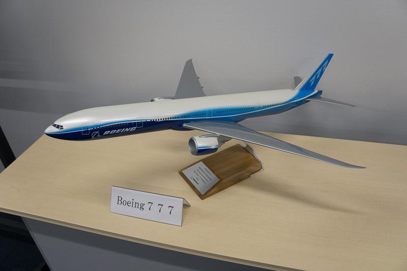 ボーイング 777のスケールモデル
