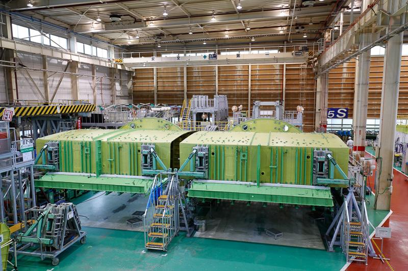 ボーイング 777中央翼製造工程
