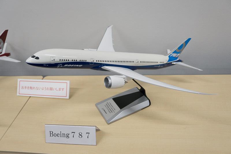 ボーイング 787のスケールモデル