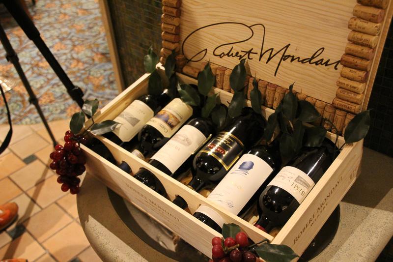 高級ワインのラインアップも豊富