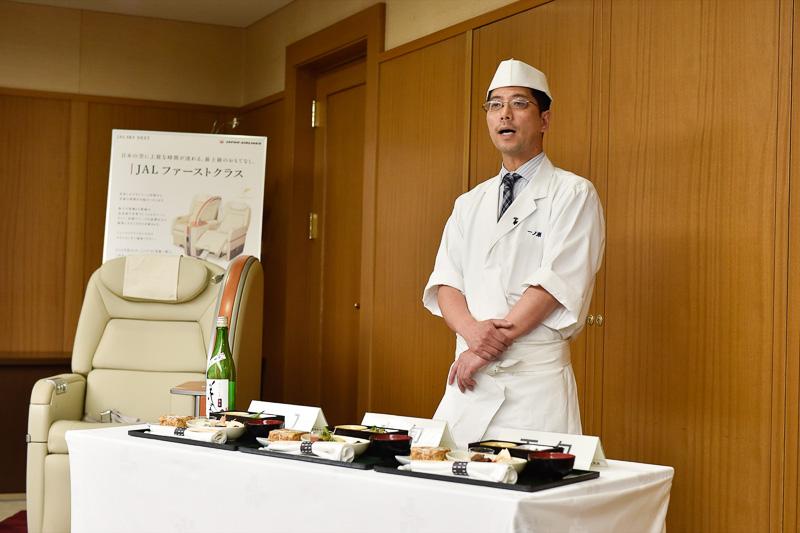 ホテル日航熊本の日本料理店「弁慶」の料理長である一ノ瀬勉氏がプロデュースするメニューを紹介