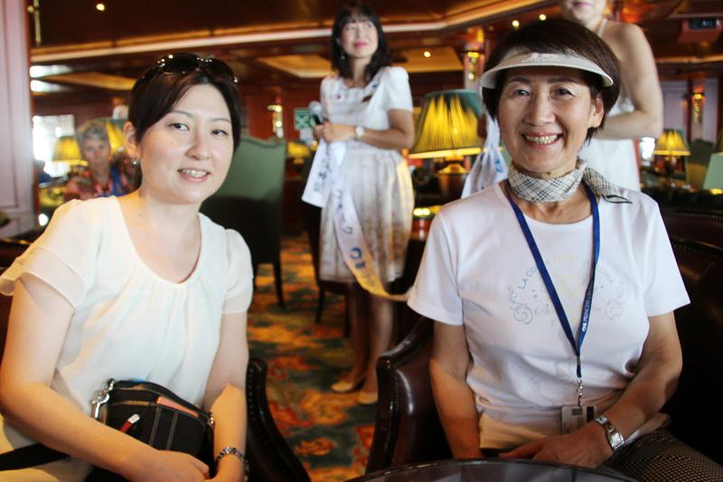 親子で参加されていた浦井さん。特に熊本が印象的で、熊本城の姿には心が痛んだという。チャリティ・ウォークにも参加されていた