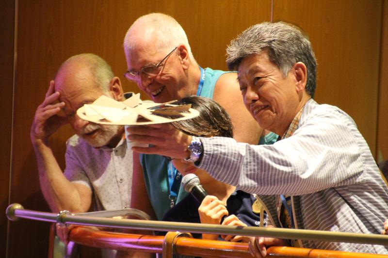 「エッグドロップ・チャレンジ」を見事成功された和田さん