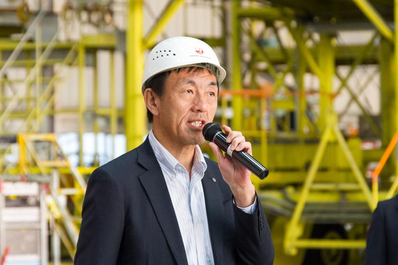日本航空株式会社 執行役員、株式会社ジェイエア 代表取締役社長の大貫哲也氏