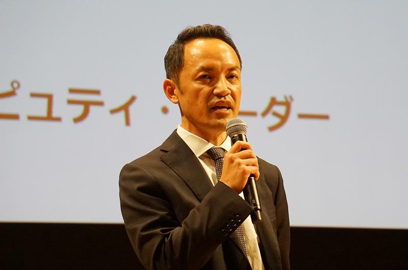 モデレーターを務めたEY Japan エリア・デピュティ・リーダーの貴田守亮氏