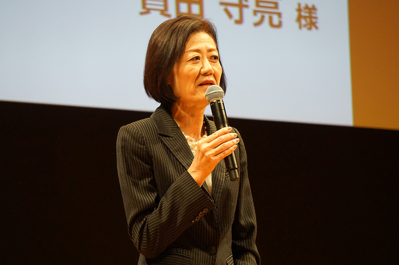 日本航空株式会社 代表取締役専務執行役員 大川順子氏