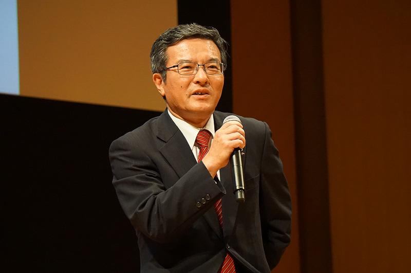 日本電信電話株式会社 常務取締役 島田明氏