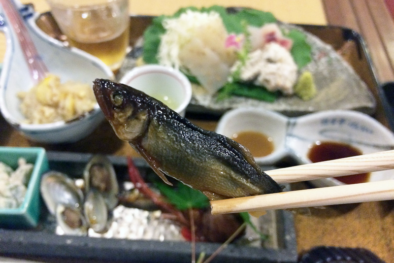 滋賀県産の小鮎の佃煮