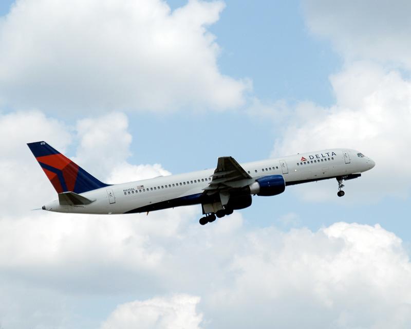 デルタ航空のボーイング 757型機