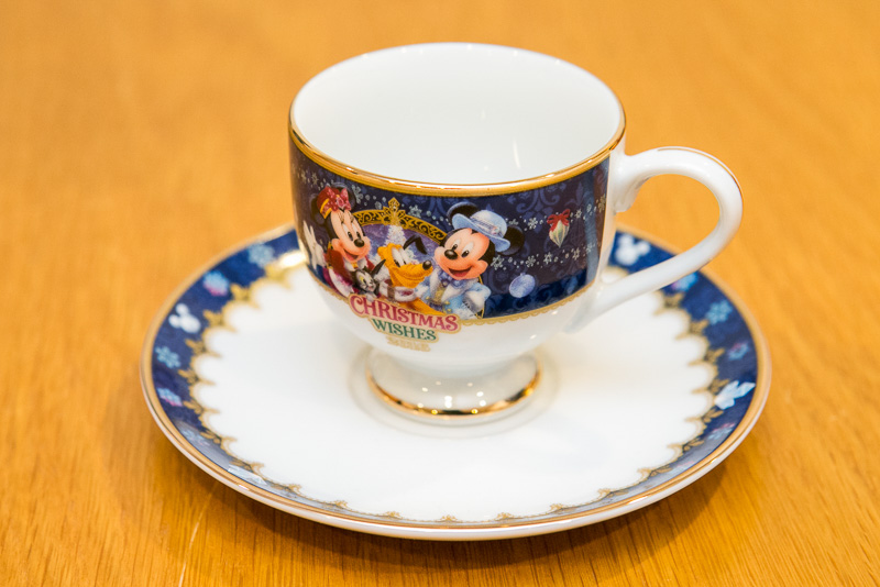 デミタスカップ&ソーサー(2350円)