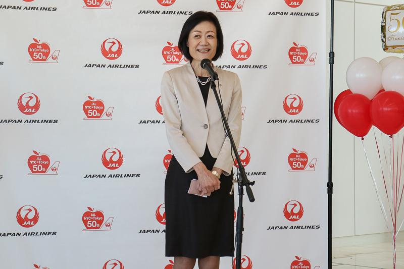 日本航空株式会社 代表取締役専務 執行役員 大川順子氏
