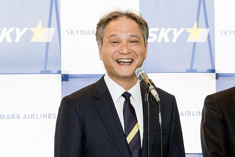 スカイマーク株式会社 代表取締役社長 市江正彦氏