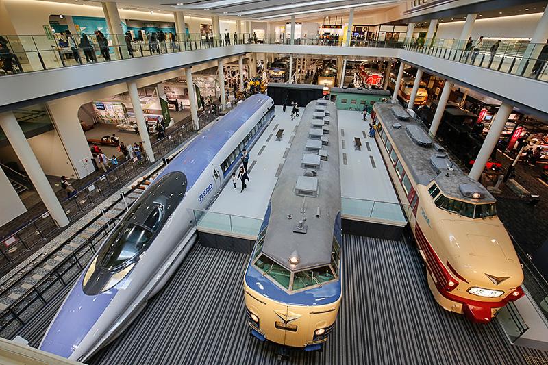 11月12日に入館者数が100万人を突破した「京都鉄道博物館」